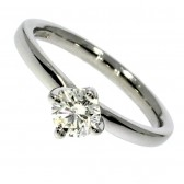 Platinum Diamond Solitaire Ring 0.43ct